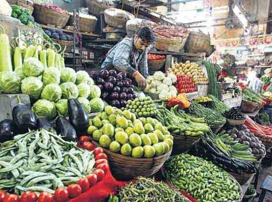 India's inflation likely fell to a four-month low in March