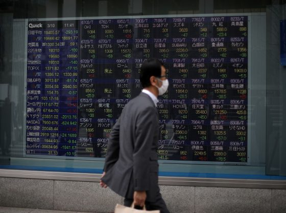 Asia shares follow S&P 500 higher, oil and gold jump