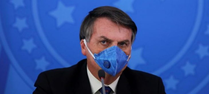 Brazil's Bolsonaro catches coronavirus, shrugs off health risks
